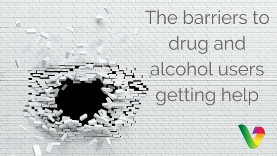 The barriers to drug and alcohol users getting help