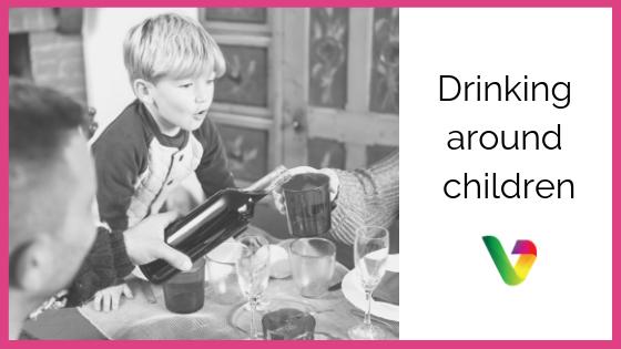 Drinking around children